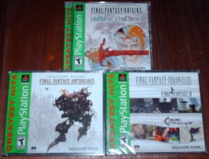Final Fantasy Anthology Origins & Chronicles - Playstation - PSX
