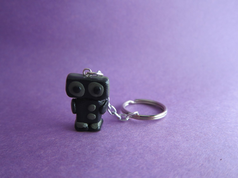 Black/Gray Robot
