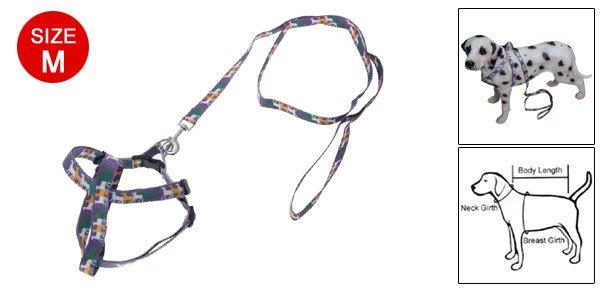 Multi-color Adjustable Dog Size M Strap Nylon Leash