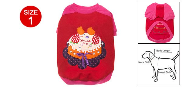 Charming Lovable Doggie Dog Pet Clothes Apparel Size 1