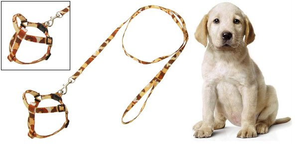 Slim Pet Dog Puppy Nylon Harness Pulling Leash Rope