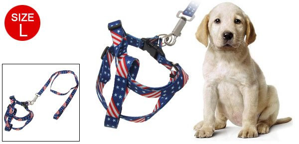Dog Puppy Pet Safe Leash Rope Size L Pull Harness