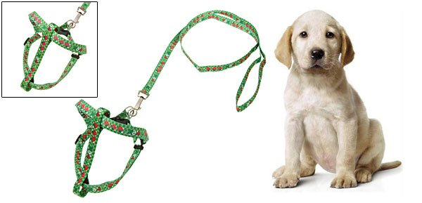 Dog's Pet's Puppy Nylon Pulling Harness Leash Rope