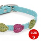 Mini Dog Puppy Doggie Doggy Collar Belt Glittering with 3 Buckle Set
