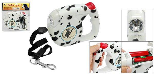 Luxury Flex Retractable Dog Leash with Dog Design 4.5M