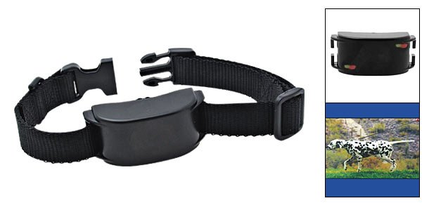 Electronic Vibration Dog Training Collar Leash - Black