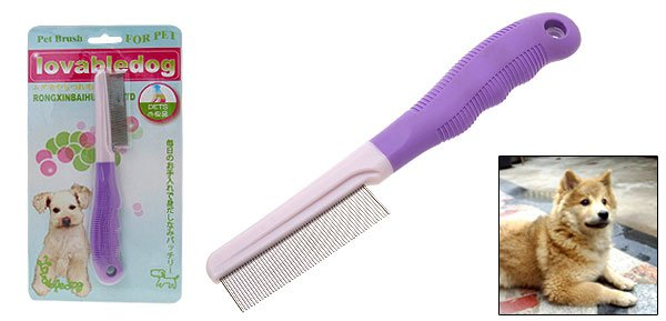 Pet Cat & Dog Grooming Comb with Fine Steel Tooth