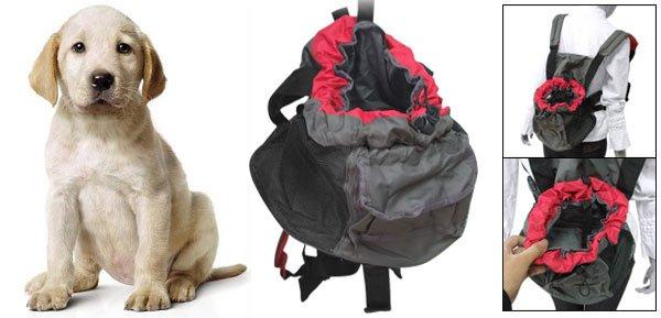 Pet Dog Carrier Adjustable Double Shoulder Backpack Bag