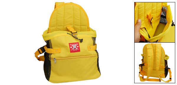 Stylish Yellow Safety Carrier Tote Bag Front Style for Dog Cat Pet