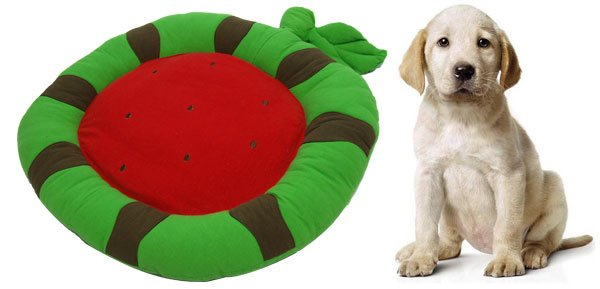 Eco-Friendly Fruit Pattern Pet Dog Doggle Doggie Puppy Bed Mat