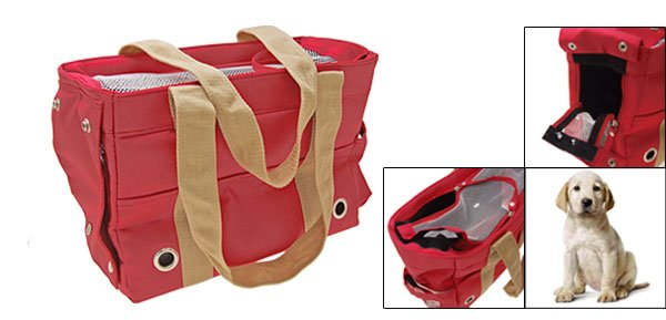 Carry Travel Carrier Tote Carrying Bag for Pet Dog with Ventilation Meshes