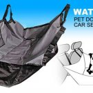 Pet Dog Car Seat Cover Safety Hammock WATERPROOF - Black