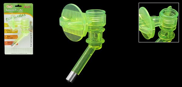 Cat Dog Pet Kelly Plastic Water Feeder Conduit
