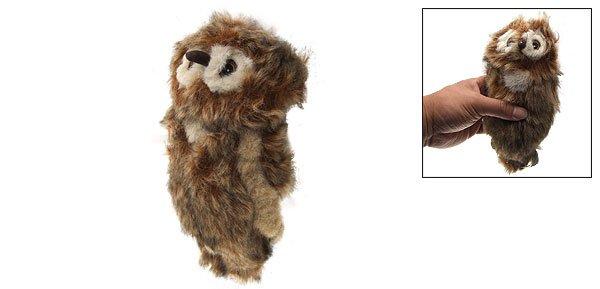 Dog Pet Chew Sound Owl Doll Plush Squeaky Stuffed Toy