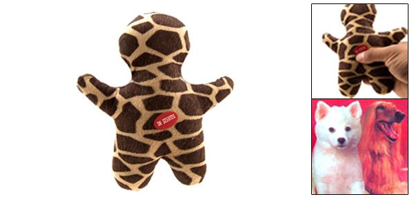 Fashion Interesting Soft Plush Pet Use Doll Toy