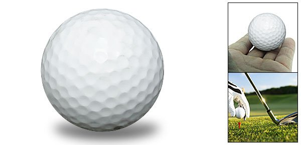 Generic Replacement Blank Golf Ball for Sports Enthusiast White