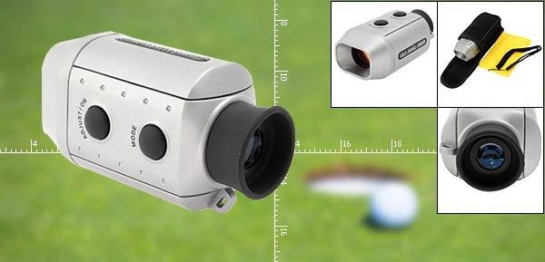 Professional Electronic Golf Range Finder Golf Scope Silver