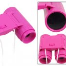 Pocket Design Fuchsia Binoculars Observing Toy 2.5X24