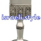 40004 - SILVER PLATED OCTAGON HAVDALA CANDLE
