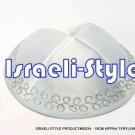 00334- LOT OF 10,  19CM KIPPAH TERYLENE  KIPA / KIPPAH / YARMULKE / YAMAKA / KIPPA