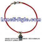 9079 -SET OF 12PCS  RED KABBALAH BRACELET HAMSA judaica GIFT from Israel.