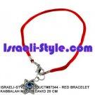 87344- SET OF 10PCS  RED BRACELET KABBALAH MAGEN DAVID 20 CM judaica GIFT from Israel.