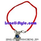 87345- SET OF 10PCS  RED BRACELET KABBALAH HAMSA 20 CM judaica GIFT from Israel.