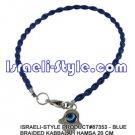87353- SET OF 10PCS BLUE BRAIDED KABBALAH HAMSA 20 CM judaica GIFT from Israel.