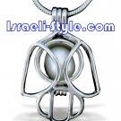 80576 - RADIUM PENDANT HAMSA, JUDAICA GIFT FROM ISRAEL