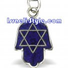 80590 -COLOR CHANGE PENDANT-HAMSA, JUDAICA GIFT FROM ISRAEL