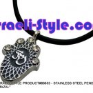 "86653 - STAINLESS STEEL PENDANT- ""MAZAL"", JUDAICA GIFT FROM ISRAEL"