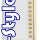 20063 - LOT OF 50PCS PLASTIC GOLD MEZUZAH 12CM/MEZUZA