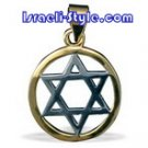 FREE SHIPPING!!90011-GOLD FILLED MAGEN DAVID /star of david,hebrew jewelry judaica