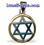 FREE SHIPPING!!90011-GOLD FILLED MAGEN DAVID /star of david,hebrew jewelry judaica