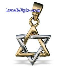 FREE SHIPPING!! 90013-GOLD FILLED MAGEN DAVID /star of david,hebrew jewelry judaica