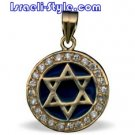 FREE SHIPPING!! 90016-GOLD FILLED MAGEN DAVID /star of david,hebrew jewelry judaica