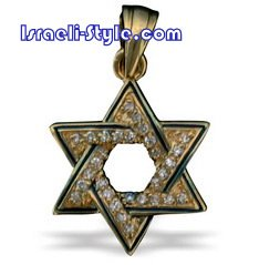 FREE SHIPPING!! 90017-GOLD FILLED MAGEN DAVID /star of david,hebrew jewelry judaica
