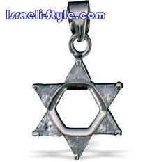 FREE SHIPPING!! 90025-GOLD FILLED MAGEN DAVID /star of david,hebrew jewelry judaica CHAI