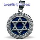 FREE SHIPPING!! 90046-GOLDFILLED PENDANT- MAGEN DAVID /hebrew jewellry judaica
