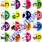 "9041 - ""ALEPH-BET"" STICKERS jewish toys for kids children"