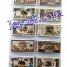 "09286 ""SHANA TOVA"" 144PCS CARDS, 6 EACH DESIGN ON A STAND ROSH HASHANA"