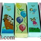 9376-lot of 5pcs CHILDREN 10CM MEZUZAH/MEZUZAH-ASSORTED COLORS