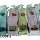 9377-LOT OF 5PCS CHILDREN 10CM MEZUZAH-ASSORTED COLORS ISRAEL JUDAICA MEZUZAH