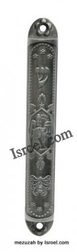 "MEZUZAH MEZUZAH DEAL 28340 -MEZUZAH 12CM ""MIGDAL DAVID"",JUDAICA MEZUZA BY ISROEL.COM"