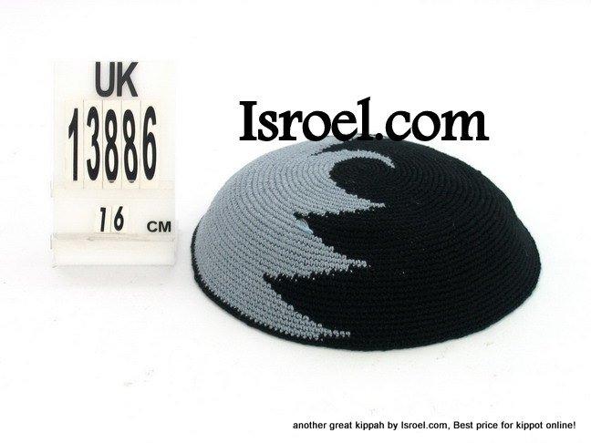 13886 -KIPPAH DESIGNS ,kippah man, yarmulka kippahs for sale,klipped kippahs, kippah designs,KIPA
