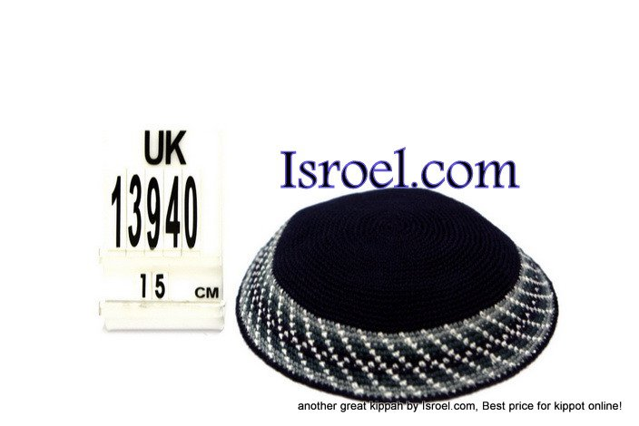 13940 -KIPPAH SRUGA ,kippah man, yarmulka kippahs for sale,klipped kippahs, kippah designs,KIPA