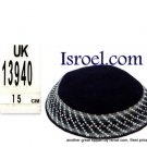 13940 -KIPPAH SRUGA ,kippah man, yarmulka kippahs for sale,klipped kippahs, kippah designs,KIPA