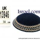 13946 -KIPPAH SRUGA ,kippah man, yarmulka kippahs for sale,klipped kippahs, kippah designs,KIPA