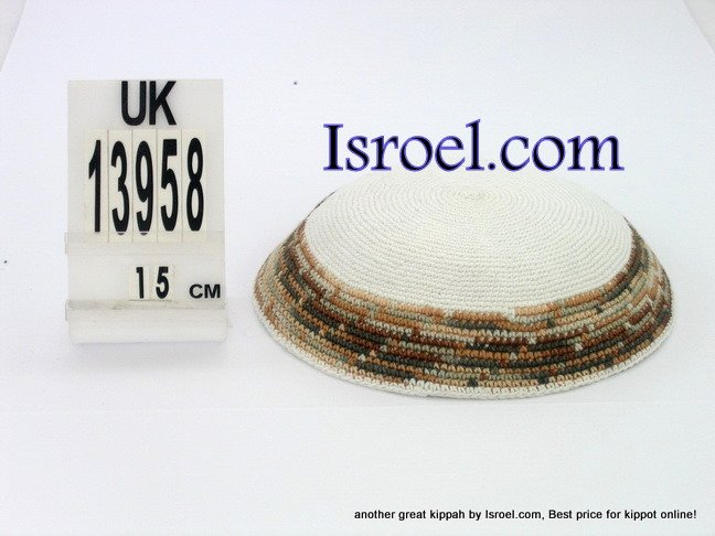 13958 -KIPPAH SRUGA ,kippah man, yarmulka kippahs for sale,klipped kippahs, kippah designs,KIPA