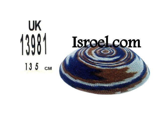 13981-KIPPAH PATTERNS ,kNITTED KIPA, yarmulka kippahs for sale,klipped kippahs, kippah designs,KIPA